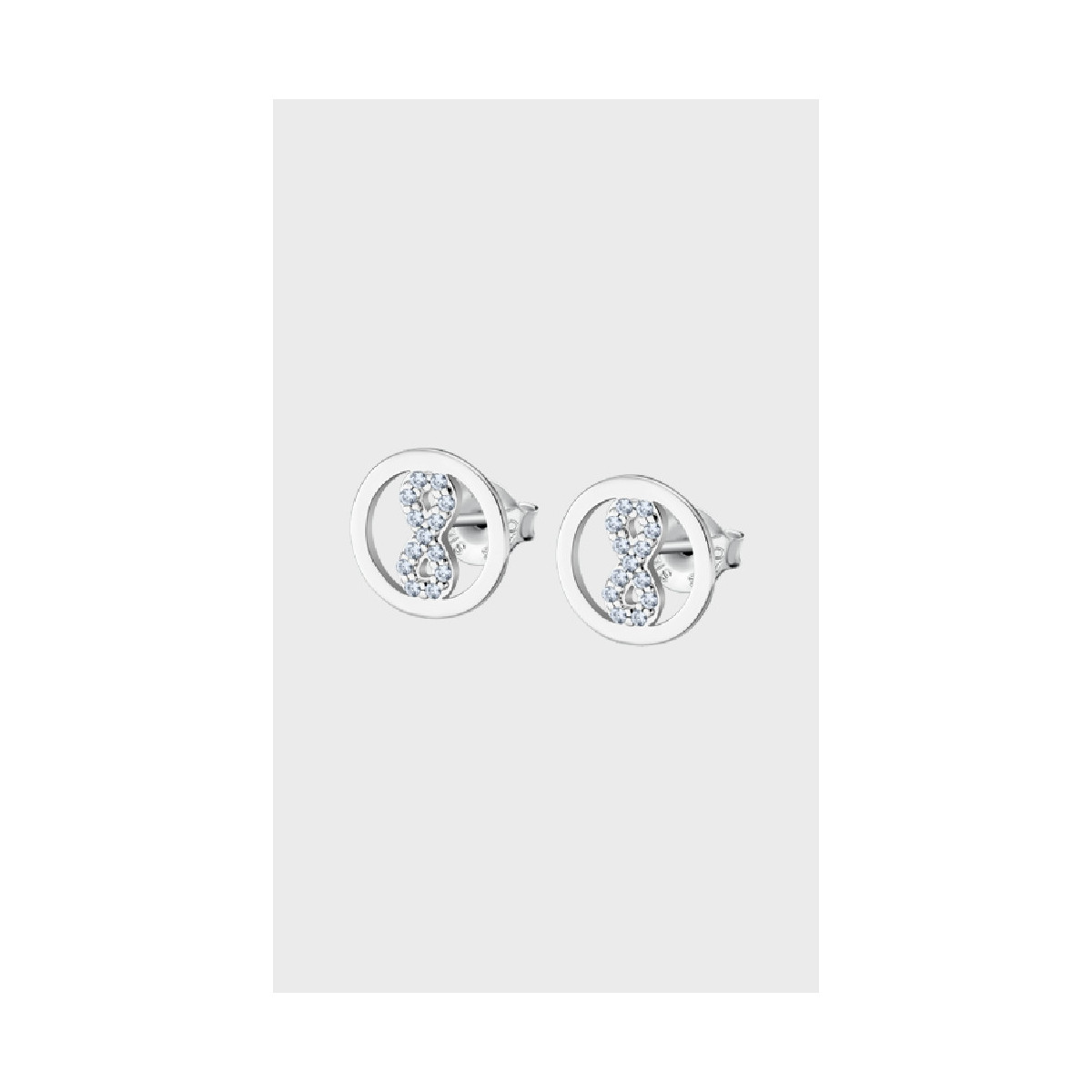 Lotus Silver Pendiente Sra.infinito.12mm - LP1768-4/3