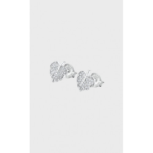 Lotus Silver Pendiente Sra.hojas - LP3017-4/1