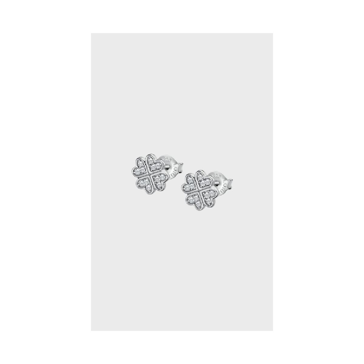 Lotus Silver Pendiente Sra.trebol - LP3052-4/1