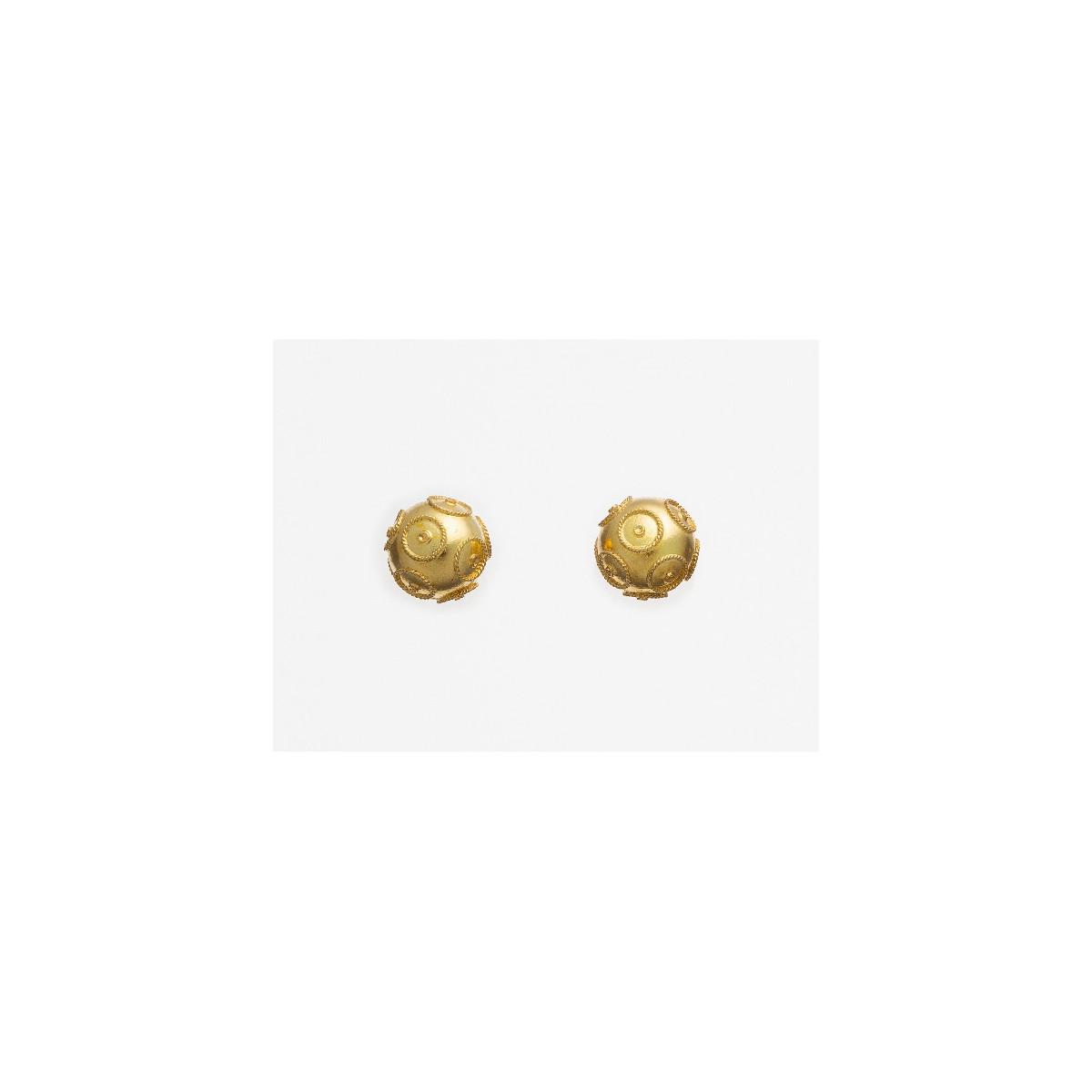 Pendientes Azabache - BR0116D