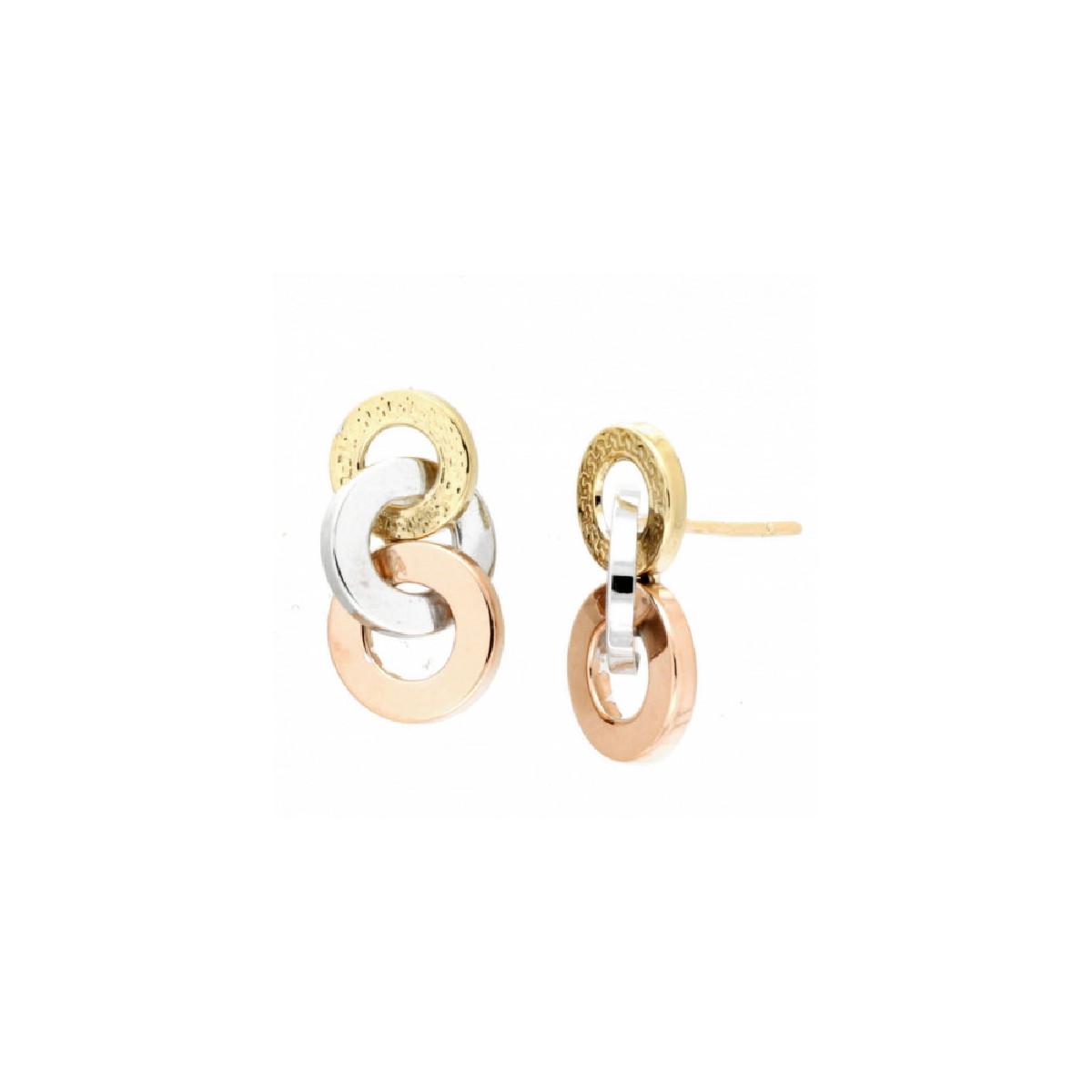 Pendientes Oro - 26-5940-T-P