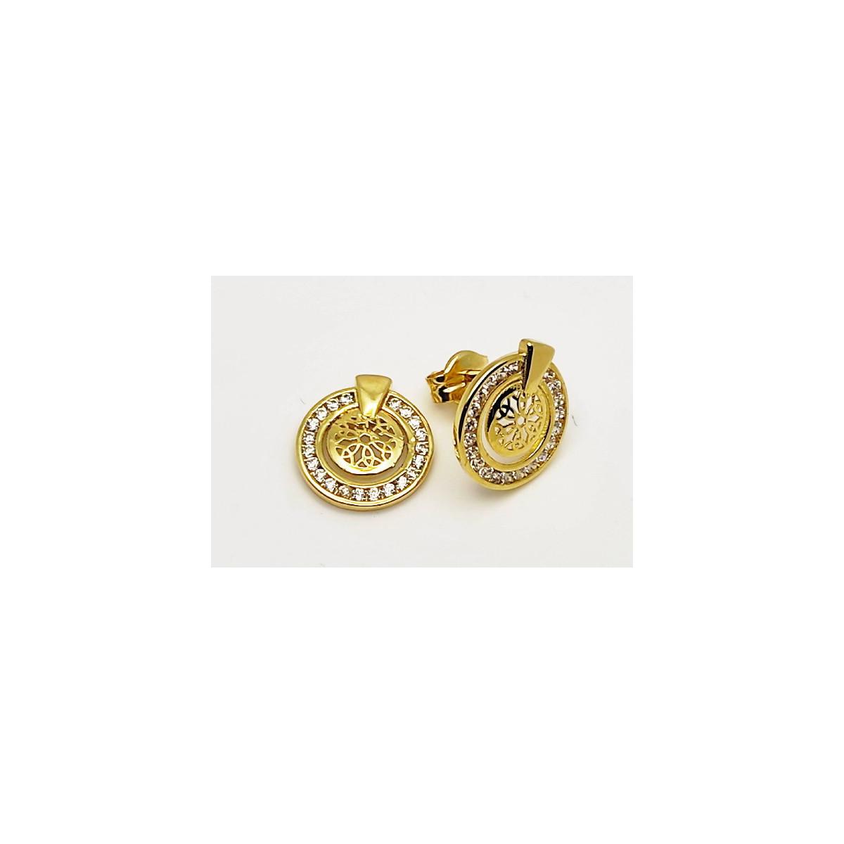 Pendientes Oro - 229-95A