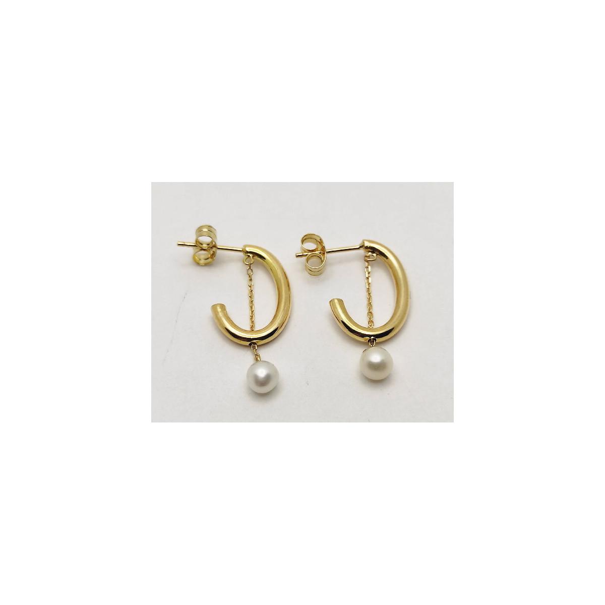Pendientes Oro - 210-1020A
