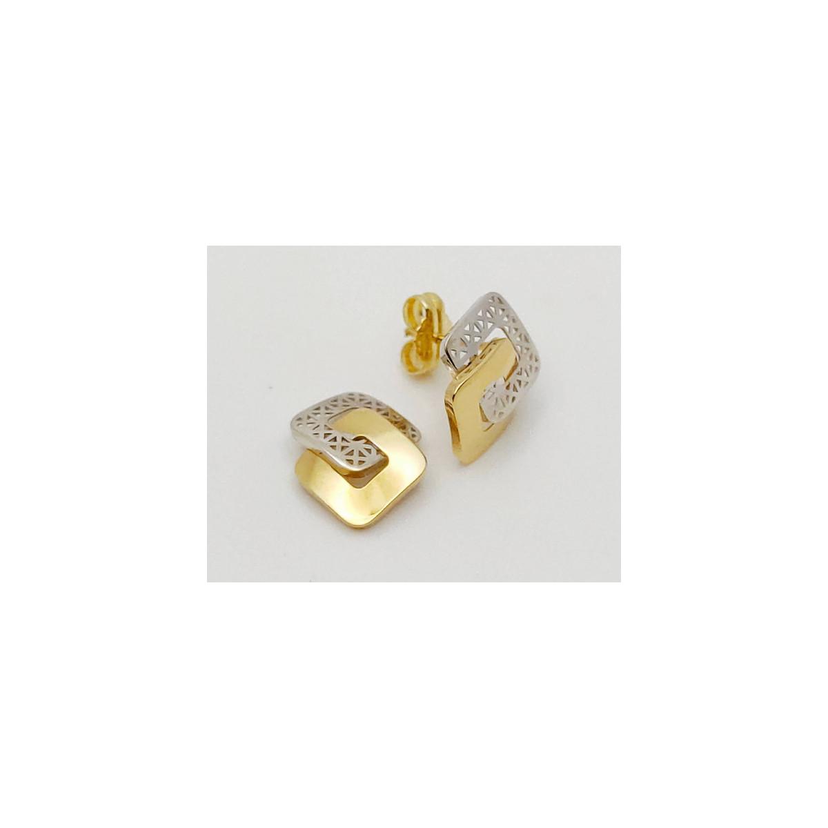 Pendientes Oro - CBPDL00200-PR
