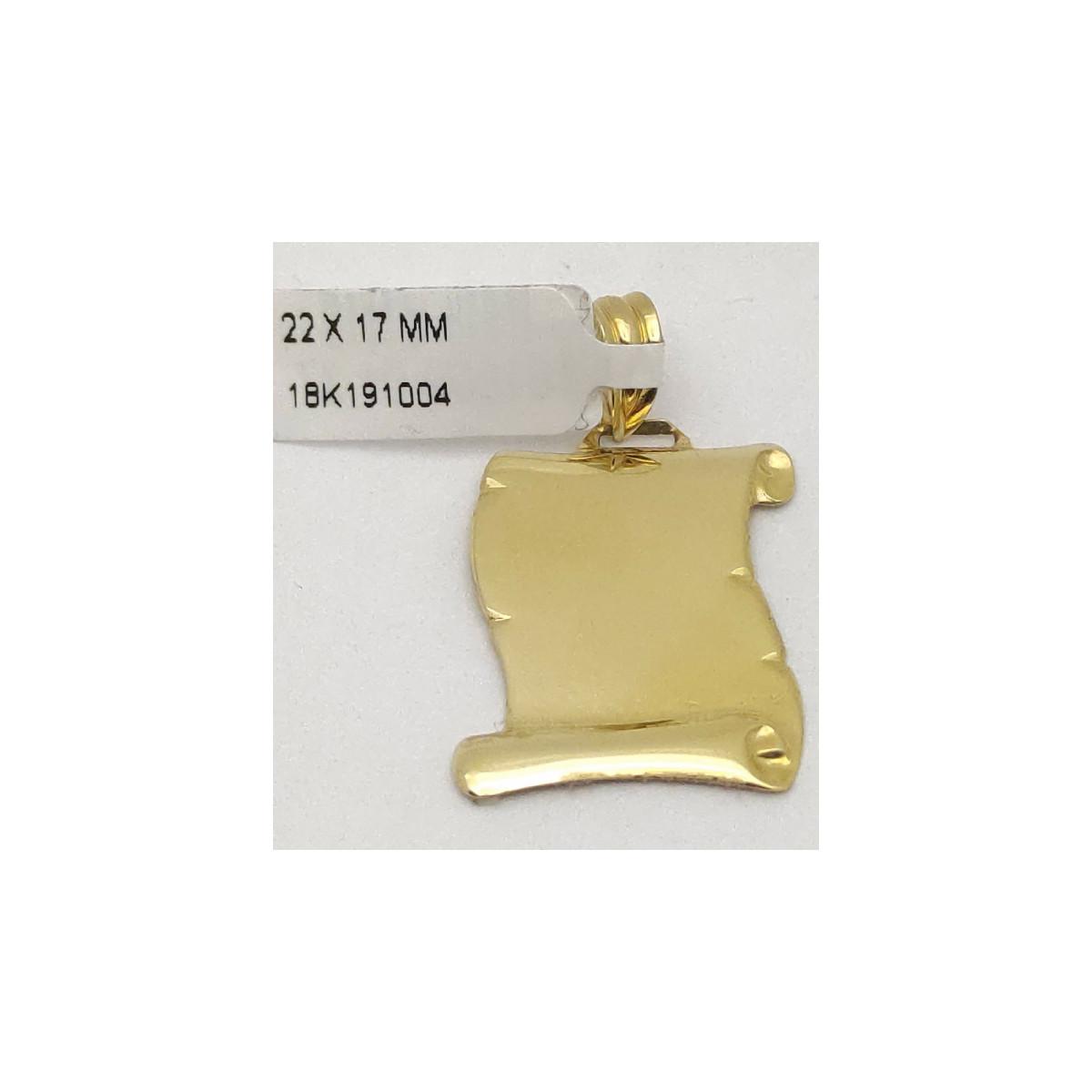 Colgante Oro - 161509