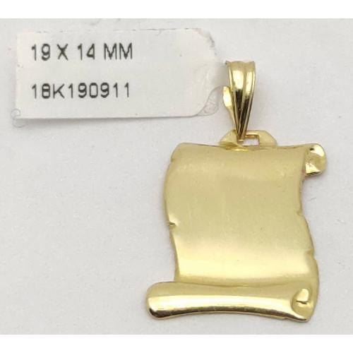 Colgante Oro - 161509.
