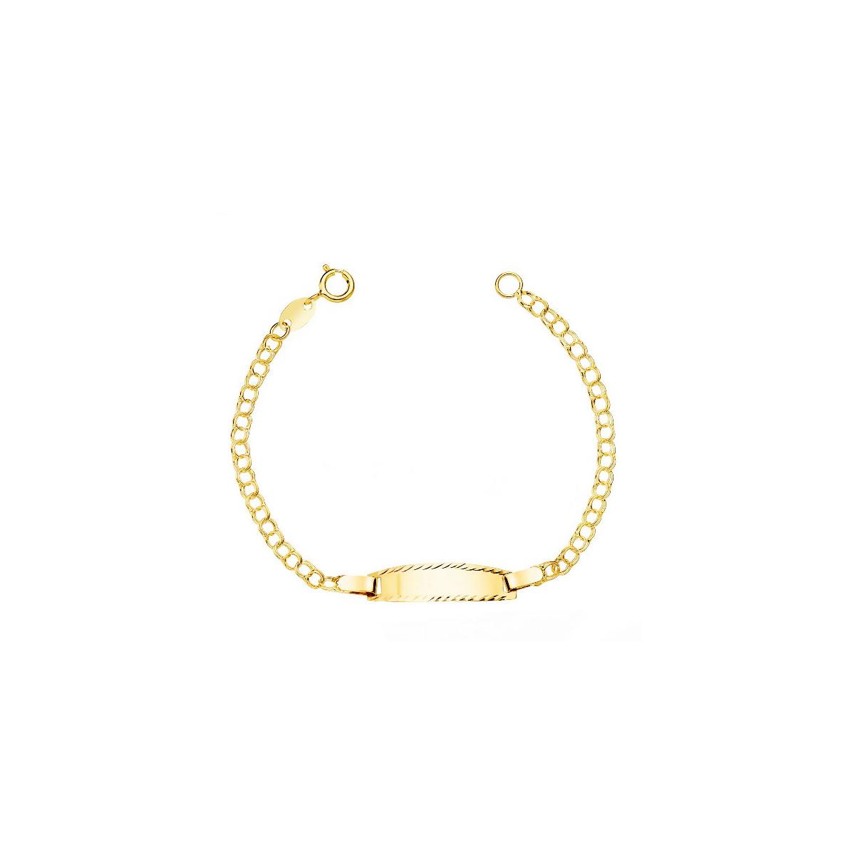 Esclava Oro Bebe - 08000170