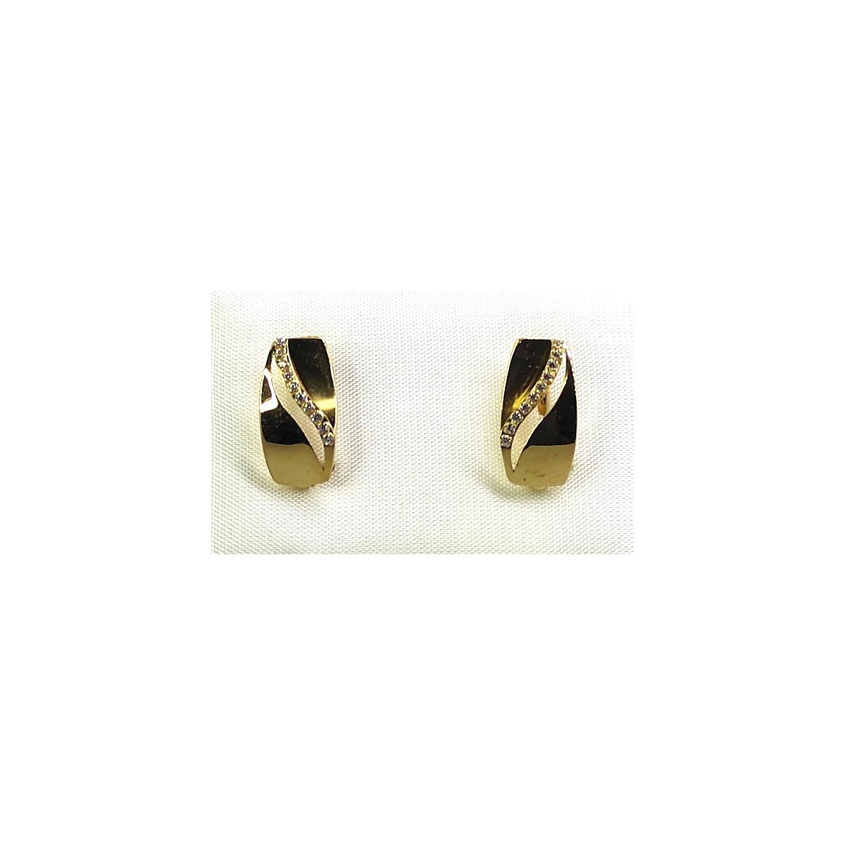 Pendientes Oro - AUPDZ1199-CC